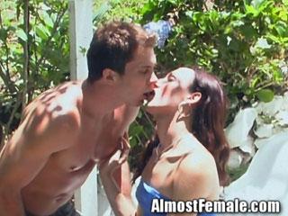 shemale fucks boyfriend